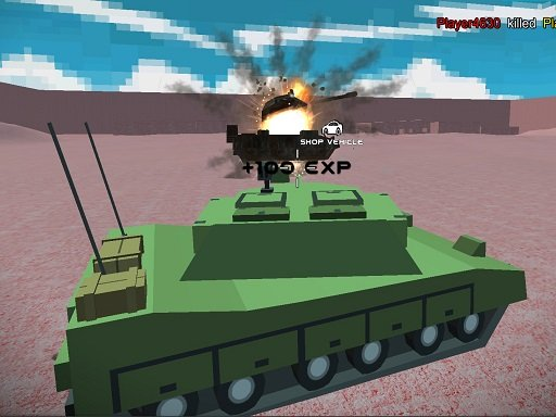 Helicopter And Tank Battle Desert Storm Multiplaye